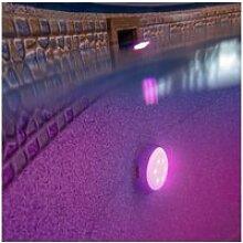 Gre lampe led pour piscine hors sol blanc et bleu