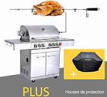GREADEN- BBQ Grill Barbecue À Gaz INOX DÖNER