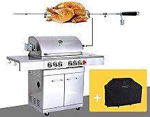 GREADEN- BBQ Grill Barbecue À Gaz INOX DÖNER- 4