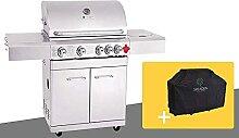 GREADEN BBQ Grill Barbecue À Gaz INOX PHÉNIX - 4
