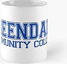 Greendale College Jersey Blue Classic Mug