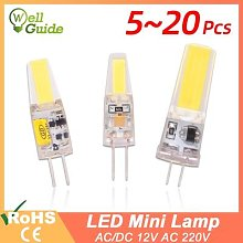 GreenEye – ampoule G4 G9, lampe variable,