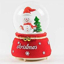 Greenf Boule à Neige lanternes de Noël lumières