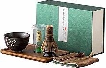 Greenf Ensemble à Thé Matcha Japonaise Premium,