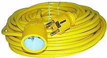 Greenstar 4838 Rallonge électrique PVC 20 m 3 x
