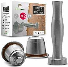 Greenvea - Kit complet de capsule à café