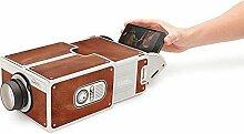 greenwoodhomer Mini projecteur portable en carton