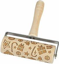 grefen Rouleau à pâtisserie en bois pour