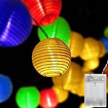 Gresonic Guirlande lumineuse à 20 LED avec