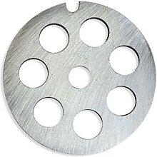 Grille acier 12 mm pour hachoir à viande n°8