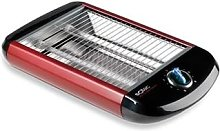 Grille-pain horizontal 650 W TC5303 rouge Solac