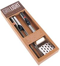 Grillight SET PINCE+ SPATULE - Ustensile barbecue