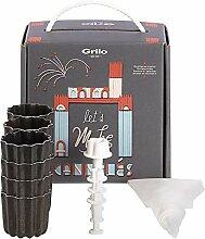 Grilo 998900 Kit Pâtisserie décor - Moule à