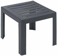 Grosfillex Miami Table basse, Anthracite