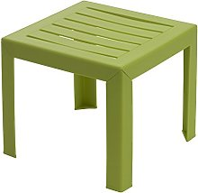 GROSFILLEX Miami Table, Vert Anis, 40 x 40 cm