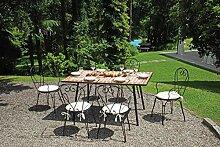 Gruppo Maruccia Set Repas pour extérieur 6 Places