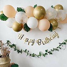 GSDJU 36 pièces Joyeux Anniversaire Ballon