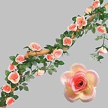 GSDJU Fleurs artificiellesRose 230cm
