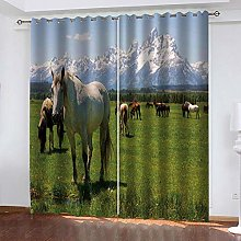 GSKBDQ Rideaux Occultants Isolants 132X214Cm(L X