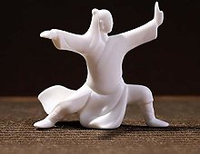GSSWXN Pinny Porcelaine Blanche Kung Fu Figure