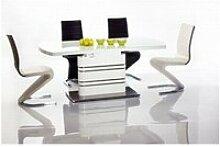 Gucca - table moderne avec plateau extensible -