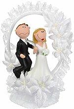 günth Art Amusant Embout Couple de mariés en