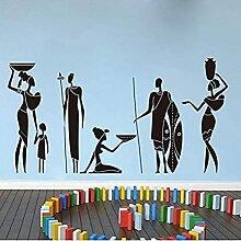 Guerrier africain Sofa Sofa Chambre Tribal African