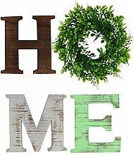 GUIFIER Home Lettres en Bois décoratifs - Lettre