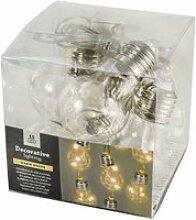 Guirlande 5 ampoules à led 5x5x9cm