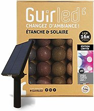 Guirlande d'extérieur boules lumineuses LED -