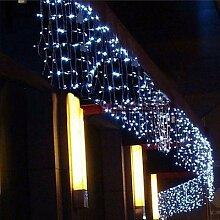 Guirlande de lumière de glaçons de décoration,