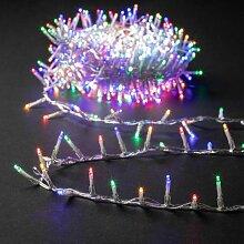 Guirlande de Noël Extérieur Cluster Multicolore