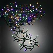 Guirlande de Noël LED extérieure filaire PVC - 8