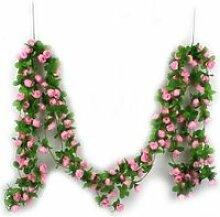 Guirlande de soie de rose décorative Vigne