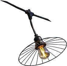 Guirlande décorative CHIC CAGE | avec-ampoules