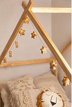 Guirlande décorative Doram LED Kids Brun Blé