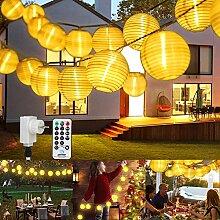 Guirlande Exterieur LED Lanterne, ETMURY Guirlande