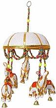 Guirlande indienne décorative à suspendre avec