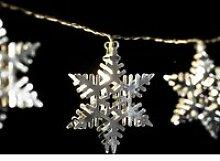 Guirlande intérieure de Noël LED étoile Xmas -