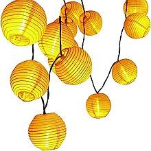 Guirlande Lampions LED, otutun Guirlande Solaire