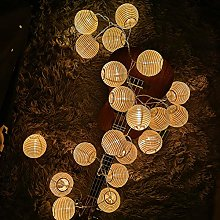 Guirlande Lanterne, Guirlande Lumineuse 3,2M