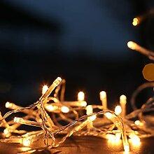 Guirlande LED avec lumière blanche chaude 3000 K