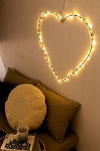 Guirlande LED décorative Deit Blanc Chaud Sklum
