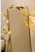 Guirlande LED décorative Flory Blanc Chaud Sklum