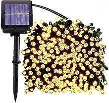 Guirlande LED solaire YOGY | 15-metres