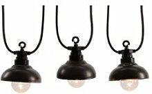 Guirlande lumineuse 10 led style industriel -