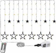 Guirlande Lumineuse 5 étoiles (61 LED) / 12