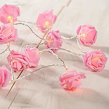 Guirlande lumineuse à 20 LED roses - 3 m - Rose