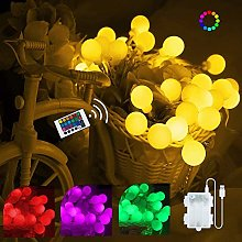 Guirlande lumineuse à 40 LED multicolores - 6 m -