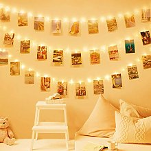 Guirlande lumineuse à LED à clips Photo